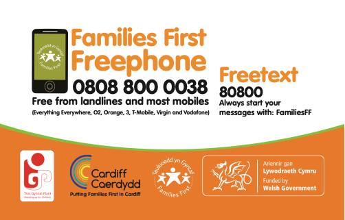 Families First Helpline Poster