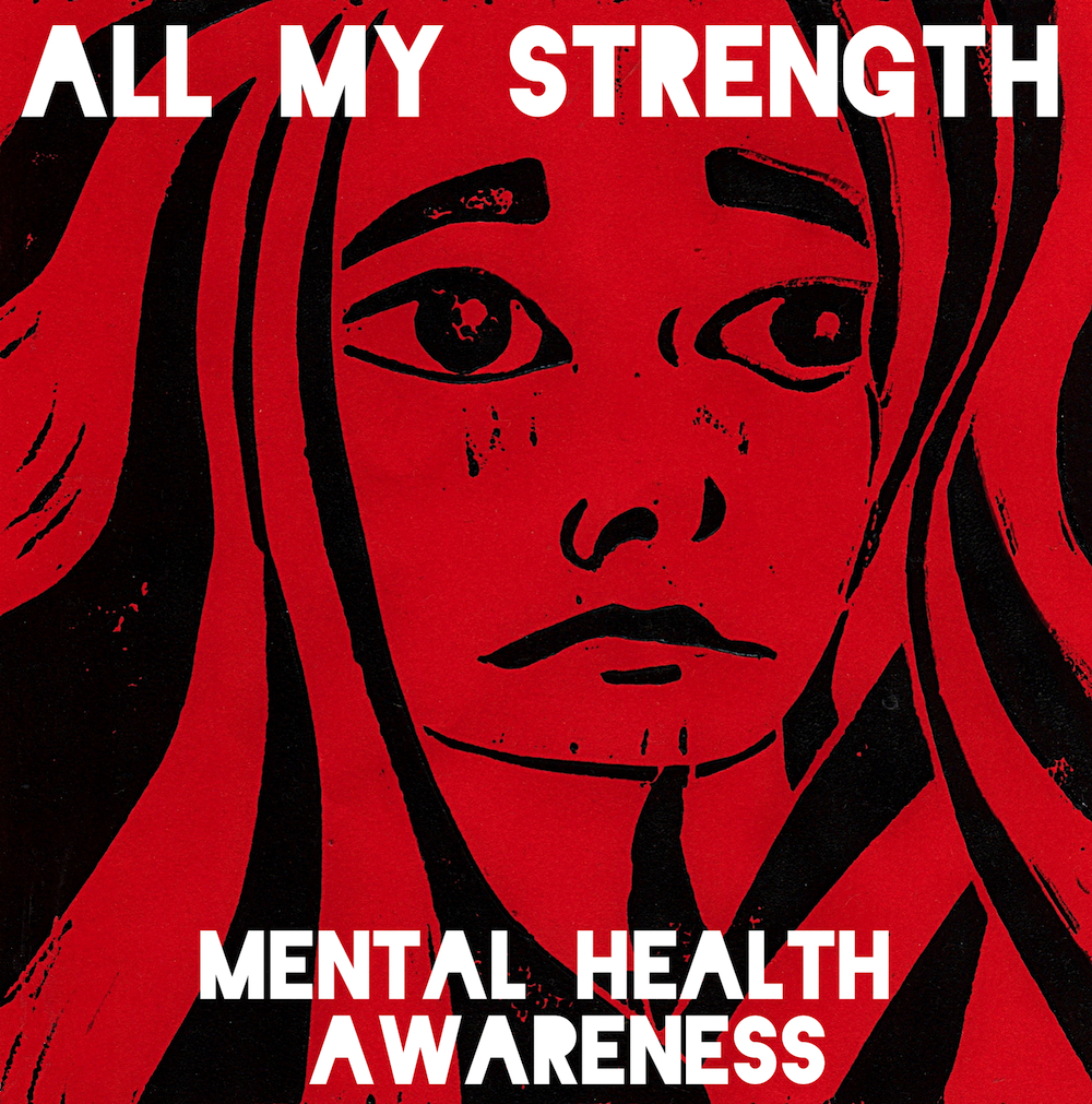 All My Strenght Logo for Mental Health Awareness Week